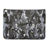 [썸띵어쿠스틱] Something Acoustic - Bustle Motif Clutch Bag-Skull(SA10200915A)_클러치백