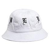 [블랙스케일]BLACK SCALE Olde English Bucket WHT 모자 벙거지 버킷햇