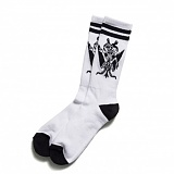[블랙스케일]BLACK SCALE Son of Scale Socks WHT 양말