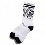 [블랙스케일]BLACK SCALE Rebel Seal Socks WHT 양말