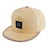 [연예인 착용][바잘] basic straw snapback beige 스냅백 모자