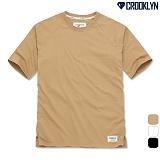 [크루클린] CROOKLYN 5부 래글런 루즈핏 티셔츠 TRS166 반팔티