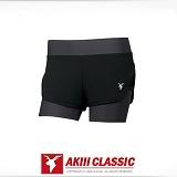 [AKIII CLASSIC]아키클래식 - 반바지 레깅스 커버업 3부 레깅스 팬츠 다크그레이
