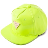 [헤이터] HATER 네온 옐로우 에나맬 스냅백 PATENT LEATHER FLUORESCENT YELLOW SNAPBACK (YELLOW)