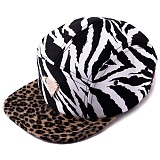 [헤이터] HATER 지브라 옐로우 레오파드 캠프캡 ZEBRA WITH YELLOW LEOPARD 5-PANEL CAMPCAP (YELLOW)