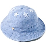 [헤이터] HATER 식스스타 멀티컬러 넵 스카이블루 버킷햇 SIX STARS WITH MULTI COLORED NEP SKY BLUE BUCKET HAT (SKY BLUE)