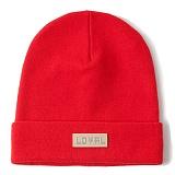 [헤이터] HATER 로얄 로고 롱 비니 레드 LOYAL LOGO RED BEANIE (RED)