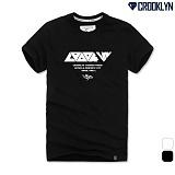 [크루클린] CROOKLYN 스포티레터링 반팔 티셔츠 TRS165 반팔티