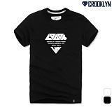 [크루클린] CROOKLYN 다이아레터링 반팔 티셔츠 TRS162 반팔티