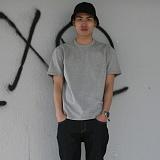 [디플로우]DEFLOW - basic T-shirt(GRAY)_반팔_반팔티_무지티
