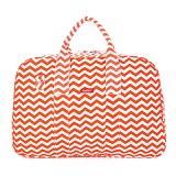 [bakker] 베이커 메이드 위드 러브 - Canvas Weekend Bag waves orange 보스턴백 트래블백