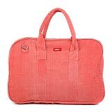[bakker] 베이커 메이드 위드 러브 - Canvas Weekend Bag circles orange 보스턴백 트래블백