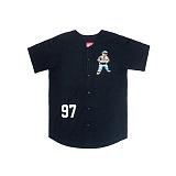 [브리즈익스커션]BREEZY EXCURSION 1997 BEAR Jersey (Black) 반팔 반팔져지