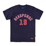 [비스폰지]beasponge - Bspg XIX T - NAVY (NVY) 반팔 반팔티 티셔츠