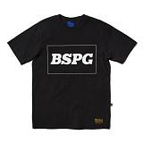 [비스폰지]beasponge - Bspg Square T - BLACK (BK) 반팔 반팔티 티셔츠