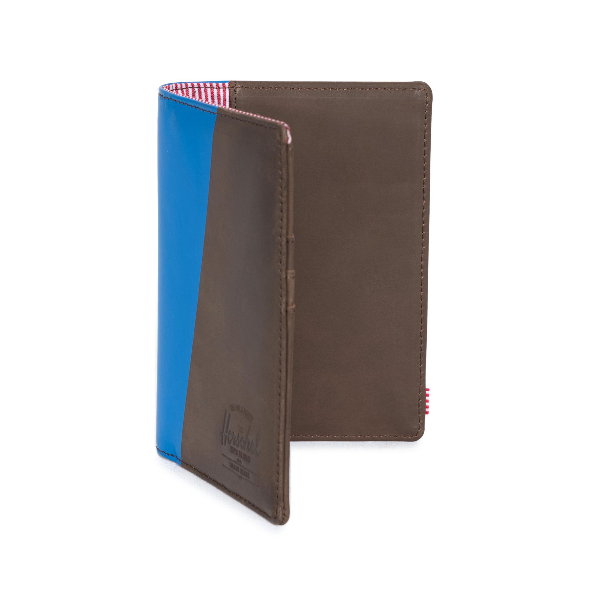 ※[허쉘]HERSCHEL - RAYNOR PASSPORT HOLDER Leather (Nubuck/Cobalt) 허쉘코리아 정품 가죽 여권지갑