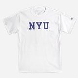 [Champion]챔피온 CREW NECK 1/2 T-SHIRT NYU (WHITE) 반팔 반팔티 티셔츠 정품 국내배송