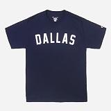 [Champion]챔피온 CREW NECK 1/2 T-SHIRT DALLAS (NAVY) 반팔 반팔티 티셔츠 정품 국내배송
