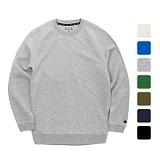[언리미트]Unlimit - Crew Sweat (AE-C030)_7color 쭈리 무지 맨투맨 크루넥 스��셔츠