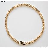 SEXTO - [Handmade]Modern Chain Necklace X3 Gold 목걸이 체인목걸이