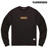 밴웍스 크로스오버 맨투맨 티셔츠_BEIGE(V15TS412)