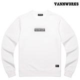 밴웍스 크로스오버 맨투맨 티셔츠_WHITE(V15TS412)