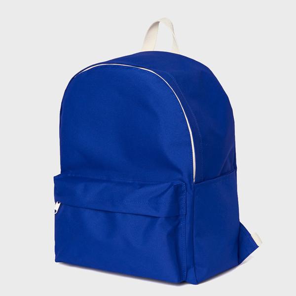 [네이키드니스]Standard Backpack - Blue 백팩 가방 데이백 스탠다드 무지백팩 블루