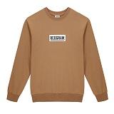 [리오그램] REOGRAMBOX LOGO SWEATSHIRTS (Beige) (B5) 크루넥 스��셔츠 맨투맨