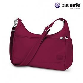 [팩세이프]PACSAFE - Citysafe CS200 Cranberry 공식수입정품(도난방지 여행용 크로스백)
