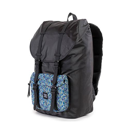 ※★단독판매★[허쉘]HERSCHEL - LIBERTY x HERSCHEL LITTLE AMERICA (Black Petal) 허쉘코리아 정품 리틀아메리카 백팩 가방