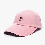 [피스메이커]PIECE MAKER - BARBELL PIXEL WASHED CAP (INDI PINK)_모자 볼캡 야구모자