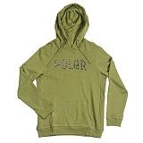 [폴러스터프]POLER STUFF - Furry Font Pullover Hoodie (Mossy)