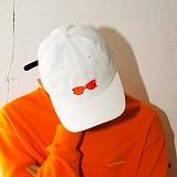 [디플로우]DEFLOW - SUNGLASSES BASEBALL CAP(WHITE) 볼캡 야구모자 캡모자