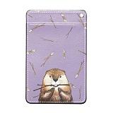 디팍스 - 파란물꼬기 비버랑수달(2TYPE) 카드목걸이