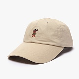 [피스메이커]PIECE MAKER - MARATHON PIXEL WASHED CAP (DUSTY BEIGE)_모자 볼캡 야구모자