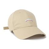 슈퍼비젼 - RAINBOW BALL CAP BEIGE - [POP] 모자 볼캡 야구모자