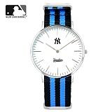 [MLB]엠엘비 시계 슬림와치 MLB3040NY-SVNB 본사정품