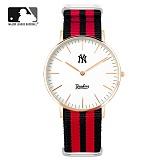 [MLB]엠엘비 시계 슬림와치 MLB3040NY-RGNR 본사정품