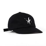 슈퍼비젼 - MARK BALL CAP BLACK - [POP] 모자 볼캡 야구모자