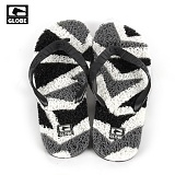 [GLOBE SANDAL] MERKIN GLASS SANDAL (BLACK/CHARCOAL/WHITE)