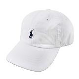 [폴로]POLO 폴로랄프로렌 말자수 로고 캡 모자 WHITE 화이트 볼캡 POLO 야구모자 정품 국내배송