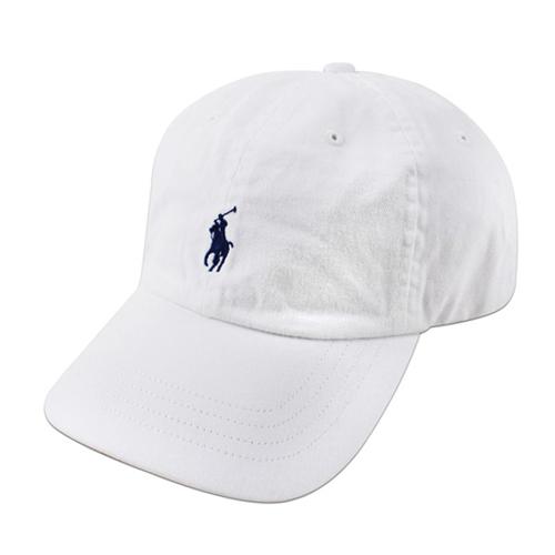 폴로 폴로랄프로렌 말자수 로고 캡 모자 WHITE 화이트 볼캡 POLO 야구모자 정품 국내배송