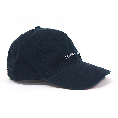 [TOMMY HILFIGER]타미힐피거 로고 모자 878600_475 네이비 (남여공용) Tommy Hilfiger 야구모자 볼캡 폴로캡 정품 국내배송