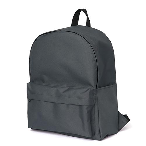 [네이키드니스]Standard Backpack - Charcoal 백팩 가방 데이백 스탠다드 무지백팩 차콜