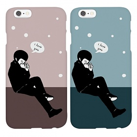 디팍스 - 552123 I LOVE YOU BOY(2TYPE) ROUND CASE