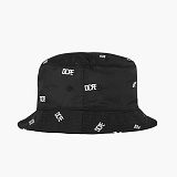 [도프]DOPE All-Over Embroidered Bucket BLACK 모자 버킷햇 버켓햇 벙거지
