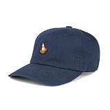 [티엔피]TNP - RUBBER CONE BALL CAP - NAVY 야구모자 볼캡 네이비