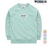 [크루클린] CROOKLYN 나그랑 오버핏 맨투맨 MRL417 크루넥 스��셔츠