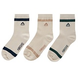 [에이비로드] ABROAD - Logo Socks (3colors)_삭스 패션양말