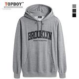 탑보이 - 브루클린 트임포켓 후드티셔츠 (RO 002) HOOD
